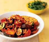 link - Oven Roasted Ratatouille