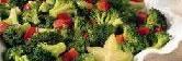 Warm Broccoli, Pepper and Smoked Tofu Salad